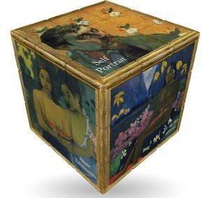 GAUGUIN V-CUBE ART EMOTIONS FLAT 3Χ3 παιχνίδια γριφοι σπαζοκεφαλιεσ πλαστικα