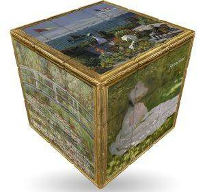 MONET V-CUBE ART EMOTIONS  FLAT 3Χ3