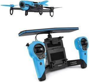 PARROT BEBOP DRONE + SKYCONTROLLER BLUE παιχνίδια rc τηλεκατευθυνσεισ αεροπλανο ελικοπτερο