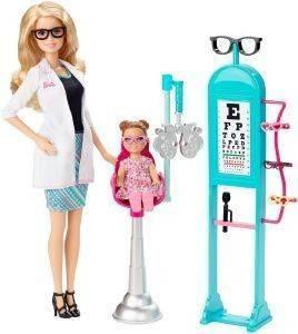MATTEL BARBIE ΟΦΘΑΛΜΙΑΤΡΟΣ ΣΕΤ ΠΑΙΧΝΙΔΙΟΥ παιχνίδια barbie επαγγελματα