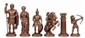 """ΠΙΟΝΙΑ ΓΙΑ ΣΚΑΚΙ MANOPOULOS """"ΤΟΞΟΤΕΣ"""" ΜΕΤΑΛΛΙΚΑ ΧΡΥΣΟ 9.7CM παιχνίδια σκακι πιονια"""