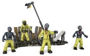 HAZMAT ZOMBIES MOB CALL OF DUTY MEGA BLOKS 4TMX