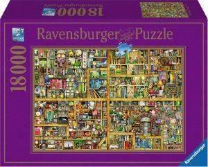 ΜΑΓΙΚΗ ΒΙΒΛΙΟΘΗΚΗ RAVENSBURGER 18000 ΚΟΜΜΑΤΙΑ παιχνίδια puzzles 4000 και ανω puzzles 18000