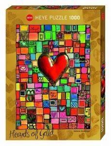 ΗΕΑRTS OF GOLD FOR YOU HEYE 1000 ΚΟΜΜΑΤΙΑ παιχνίδια puzzles 1000 puzzles 1000