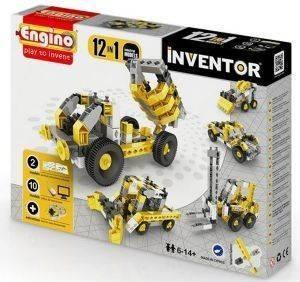 ENGINO INVENTOR 12 MODELS INDUSTRIAL παιχνίδια μοντελισμοσ συναρμολογουμενα εκπαιδευτικα