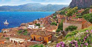 MONEMVASIA GREECE  CASTORLAND 4000 ΚΟΜΜΑΤΙΑ