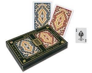 ΤΡΑΠΟΥΛΕΣ ΚΕΜ PAISLY NARROW STANDARD INDEX 2ΤΜΧ παιχνίδια casino accessories τραπουλεσ