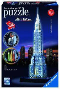 EMPIRE STATE BUILDING  RAVENSBURGER  NIGHT EDITION   216 ΚΟΜΜΑΤΙΑ