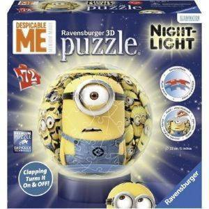 ΜΠΑΛΑΛAΜΠΑ ΤΡEΛΑ MINIONS RAVENSBURGER 72 ΚΟΜΜΑΤΙΑ παιχνίδια puzzle ball puzzles 540