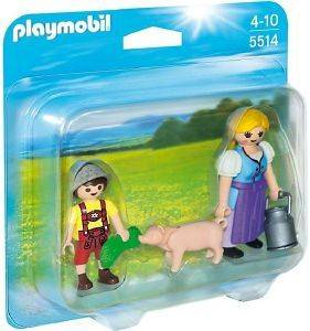 PLAYMOBIL 5514 DUO PACK ΑΓΡΟΤΙΣΣΑ ΚΑΙ ΑΓΟΡΑΚΙ παιχνίδια playmobil country