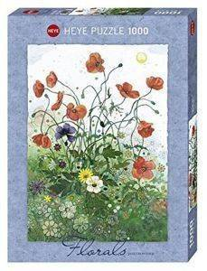 GROWTHER RED POPPIES HEYE 1000 KOMMATIA