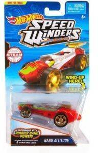 HOT WHEELS SPEED WINDERS BAND ATTITUDE