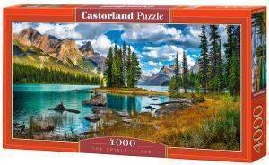 THE SPIRIT ISLAND CASTORLAND 4000 ΚΟΜΜΑΤΙΑ παιχνίδια puzzles 4000 και ανω puzzles 4000