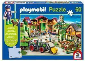 PLAYMOBIL ΦΑΡΜΑ 60 KOMMATIA παιχνίδια puzzles παιδικα playmobil