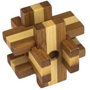 ΓΡΙΦΟΣ PROFESSOR PUZZLE MINI BAMBOOS BOX παιχνίδια γριφοι σπαζοκεφαλιεσ bamboo