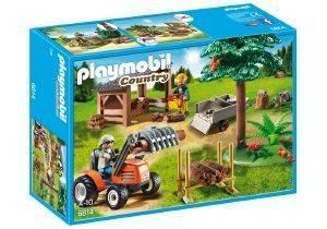 PLAYMOBIL 6814 ΞΥΛΟΚΟΠΟΙ ΜΕ ΤΡΑΚΤΕΡ παιχνίδια playmobil country