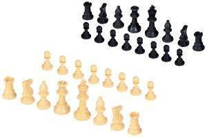 ΠΙOΝΙΑ ΓΙΑ ΣΚΑΚΙ ΠΛΑΣΤΙΚΑ ΜΠΕΖ ΜΑΥΡΟ 95MM παιχνίδια σκακι πιονια