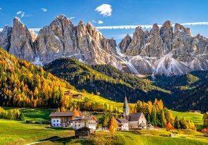 SANTA MADDALENA IN VAL DI FUNES ITALY CASTORLAND 500 ΚΟΜΜΑΤΙΑ