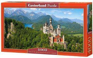 VIEW OF THE NEUSCHWANSTEIN CASTLE GERMANY CASTORLAND 4000 ΚΟΜΜΑΤΙΑ παιχνίδια puzzles 4000 και ανω puzzles 4000