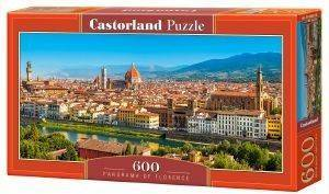 PANORAMA OF FLORENCE CASTORLAND 600 ΚΟΜΜΑΤΙΑ παιχνίδια puzzles 500 puzzles 600