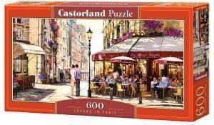 LOVERS IN PARIS CASTORLAND 600 ΚΟΜΜΑΤΙΑ παιχνίδια puzzles 500 puzzles 600