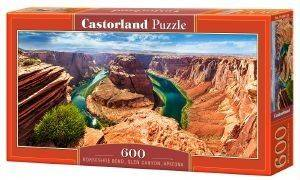 HORSESHOE BEND GLEN CANYON ARIZONA CASTORLAND 600 ΚΟΜΜΑΤΙΑ παιχνίδια puzzles 500 puzzles 600