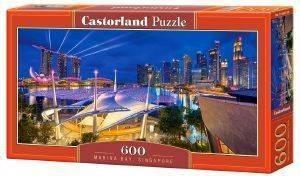 MARINA BAY SINGAPORE CASTORLAND 600 ΚΟΜΜΑΤΙΑ παιχνίδια puzzles 500 puzzles 600