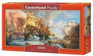 BATTLE AT THE SEA CASTORLAND 600 ΚΟΜΜΑΤΙΑ παιχνίδια puzzles 500 puzzles 600