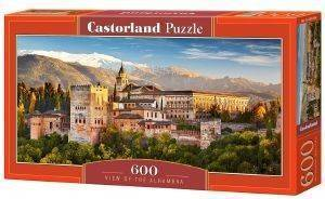 VIEW OF THE ALHAMBRA CASTORLAND 600 ΚΟΜΜΑΤΙΑ παιχνίδια puzzles 500 puzzles 600