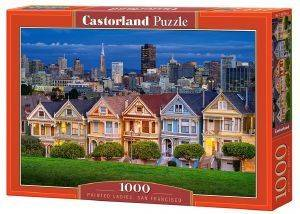 PAINTED LADIES SAN FRANCISCO CASTORLAND 1000 ΚΟΜΜΑΤΙΑ