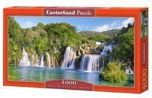 KRKA WATERFALLS CROATIA CASTORLAND 4000 ΚΟΜΜΑΤΙΑ παιχνίδια puzzles 4000 και ανω puzzles 4000