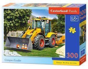 COMPACT LOADER CASTORLAND 300 ΚΟΜΜΑΤΙΑ παιχνίδια puzzles παιδικα 100 300 κομματια