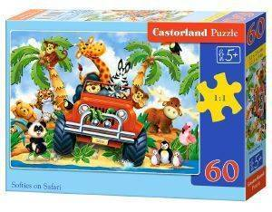 SOFTIES ON SAFARI CASTORLAND 60 ΚΟΜΜΑΤΙΑ