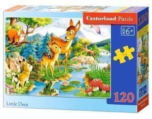 LITTLE DEERS CASTORLAND 120 ΚΟΜΜΑΤΙΑ παιχνίδια puzzles παιδικα 100 300 κομματια