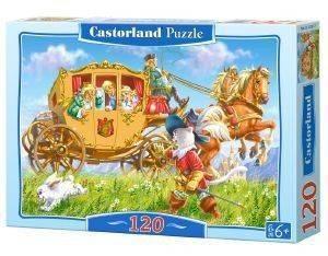 CAT IN BOOTS CASTORLAND 120 ΚΟΜΜΑΤΙΑ παιχνίδια puzzles παιδικα 100 300 κομματια
