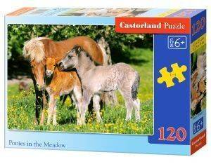 PONIES IN THE MEADOW CASTORLAND 120 ΚΟΜΜΑΤΙΑ παιχνίδια puzzles παιδικα 100 300 κομματια