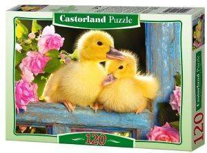 TWO DUCKLINGS CASTORLAND 120 ΚΟΜΜΑΤΙΑ παιχνίδια puzzles παιδικα 100 300 κομματια