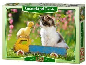 TWO PASSENGERS CASTORLAND 120 ΚΟΜΜΑΤΙΑ παιχνίδια puzzles παιδικα 100 300 κομματια