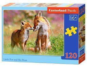 LITTLE FOX AND HIS MUM CASTORLAND 120 ΚΟΜΜΑΤΙΑ
