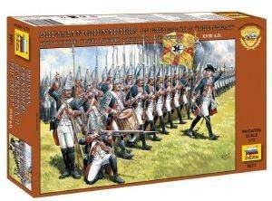 ΦΙΓΟΥΡΕΣ 1/72 ZVEZDA GRENADIERS OF FREDERICK II THE GREAT [8071]