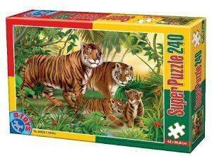 PUZZLE D-TOYS 240 ΚΟΜΜΑΤΙΑ [60211AN04]