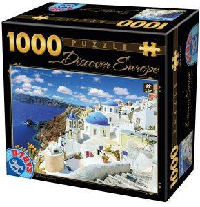 DISCOVER EUROPE D-TOYS 1000 ΚΟΜΜΑΤΙΑ [65995DE06]