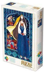 PUZZLE  D-TOYS 1000 ΚΟΜΜΑΤΙΑ (72870KA03)