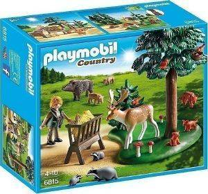 PLAYMOBIL 6815 ΔΑΣΟΦΥΛΑΚΑΣ ΜΕ ΖΩΑ ΔΑΣΟΥΣ