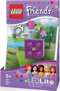 LEGO FRIENDS LED KEY LIGHT WITH CHARMS PINK
