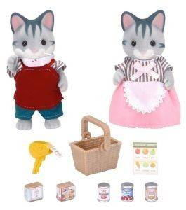 SYLVANIAN FAMILIES SUPERMARKET OWNERS [5052]