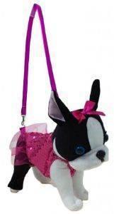 ΤΣΑΝΤΑΚΙ-ΣΚΥΛΑΚΙ JUST TOYS DOGGIE STAR FRENCH BULLDOG 25CM [DS-19]