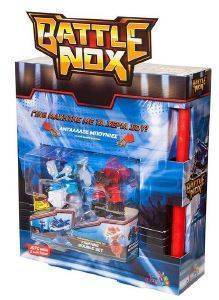 JUST TOYS BATTLE NOX ΦΙΓΟΥΡΕΣ ΣΕΤ ΤΩΝ 2 [9307LA]  PUSH BLUE VS UPPER RED