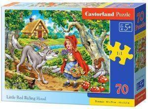 LITTLE RED RIDING HOOD CASTORLAND 70 ΚΟΜΜΑΤΙΑ