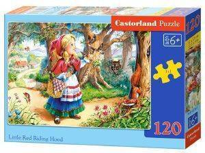 LITTLE RED RIDING HOOD B CASTORLAND 120 ΚΟΜΜΑΤΙΑ